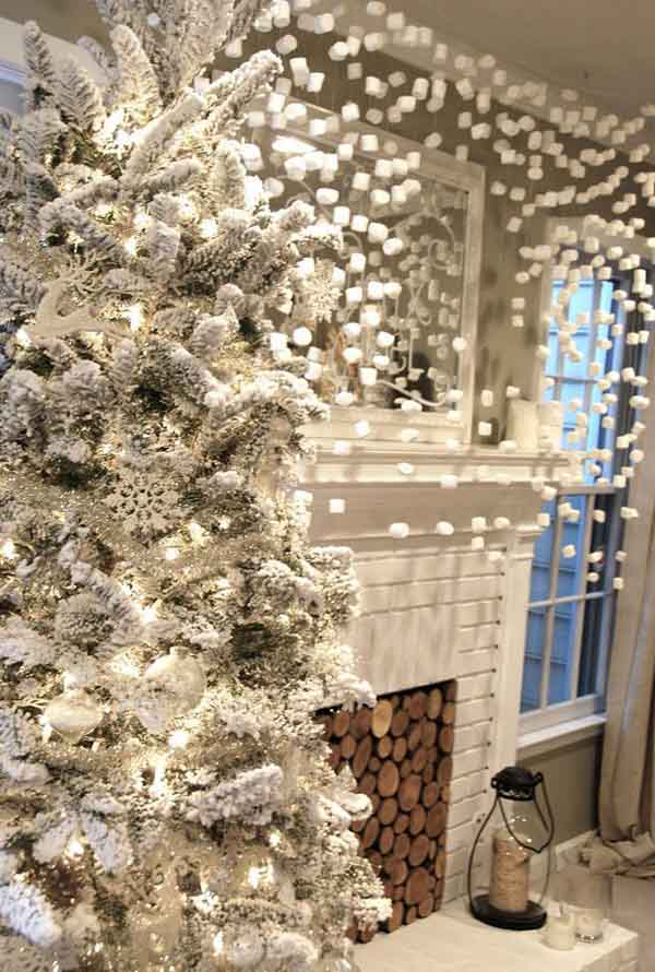 white-christmas-decoration