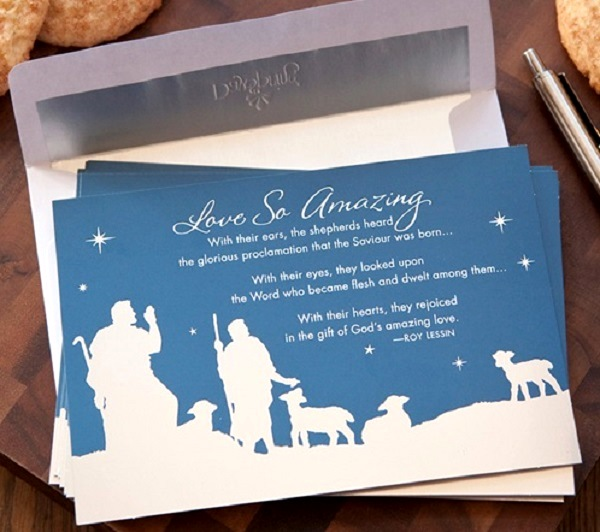 Christmas Cards With Nativity Scene