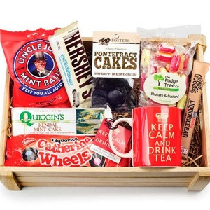 Non-food items in a Christmas Hamper. Photo Credit: www.goodhousekeeping.co.uk
