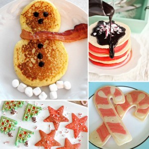 Christmas Breakfast Pancakes for Kids. Photo Credit: www.lilsugar.com