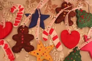 Homemade Christmas Dough Ornaments. Photo Credit: growingupgoofy.com