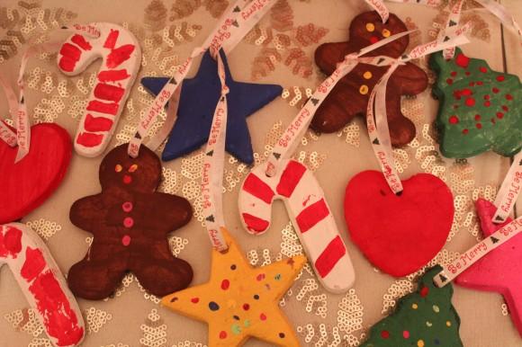 Homemade Christmas Dough Ornaments. Photo Credit: growingupgoofy.com - Homemade Christmas Ornaments - Christmas Celebration - All About