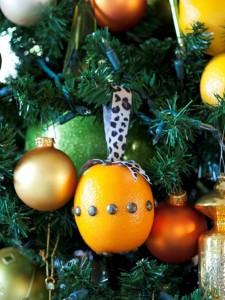 Citrus Fruit Christmas Ornament. Photo Credit: http://www.hgtv.com