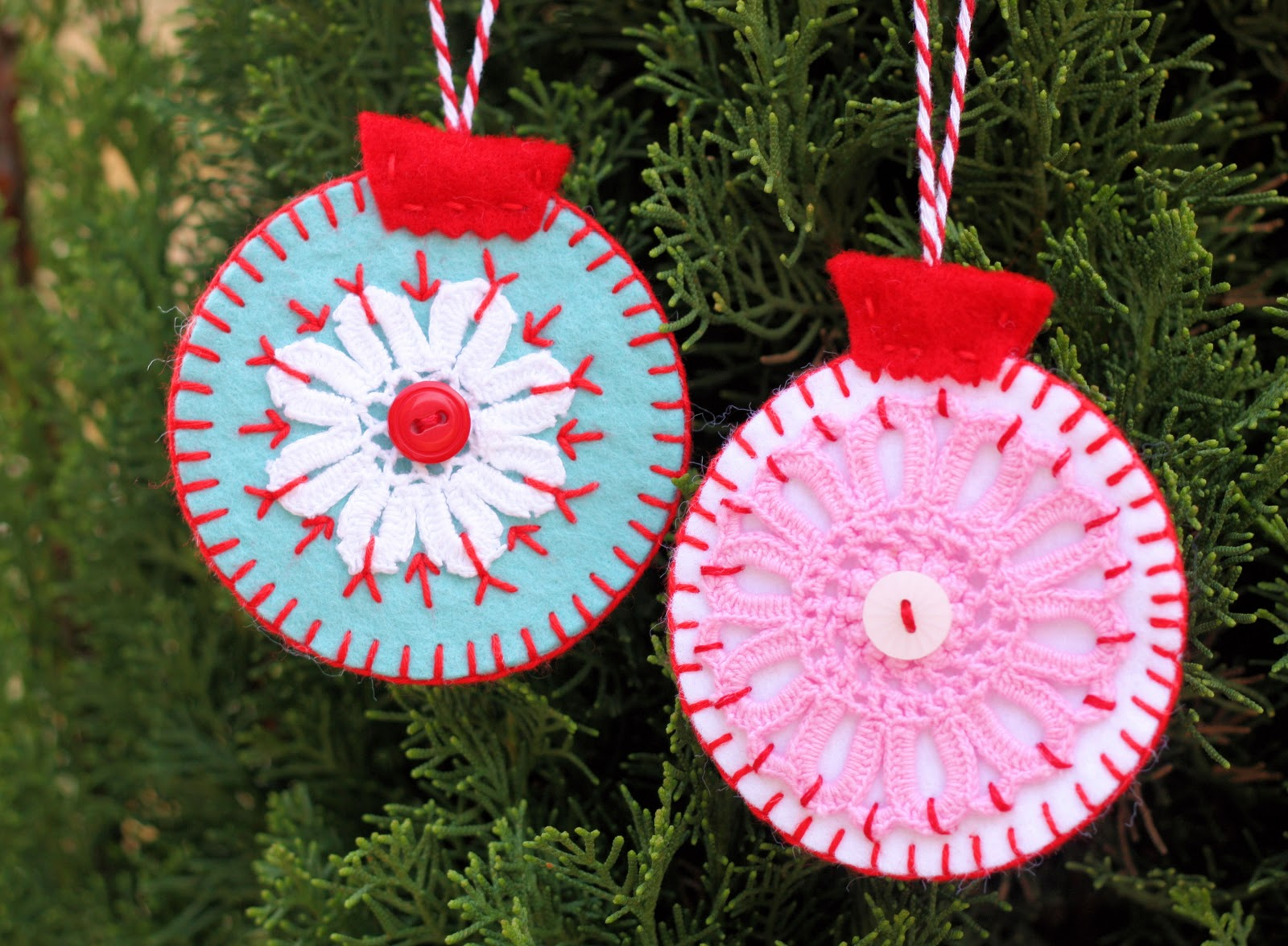 Homemade christmas ornaments christmas celebration for Homemade christmas ornaments to make