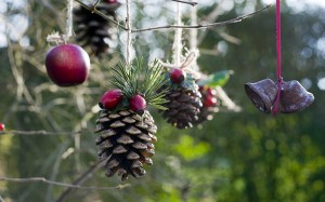 Pine cone Christmas Ornament. Photo Credit: http://foundwalls.com/