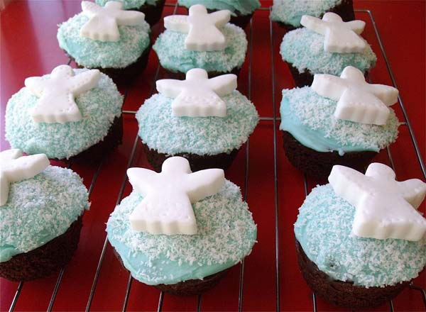Angel Cupcakes