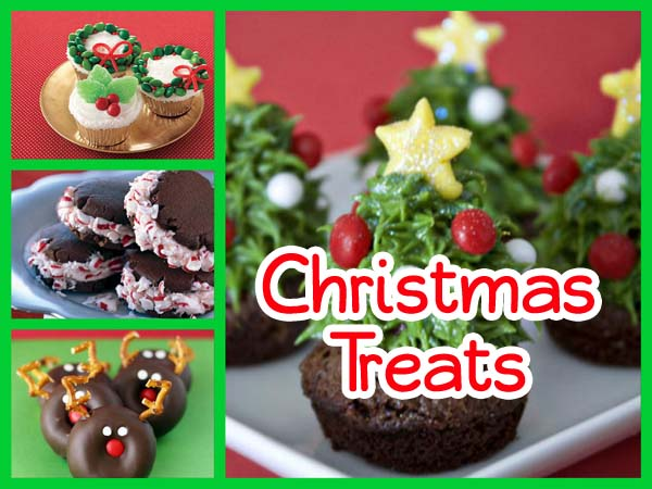 33 yummy and cute christmas treats recipes for kids - Christmas Goodies Recipes