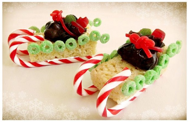 Christmas-Rice-Krispie-Treats-Sleigh