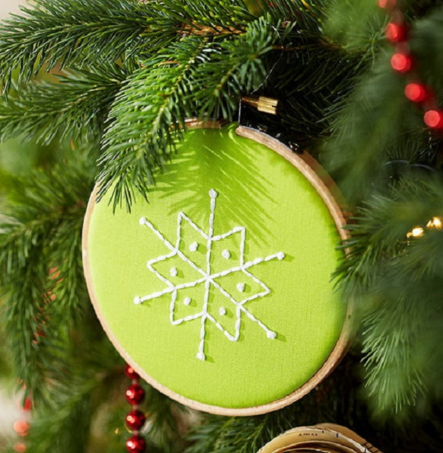 Ideas-for-Homemade-Christmas-Ornaments-Embroidered-Project