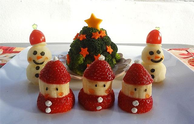 No-Bake-Christmas-Treats-Fruits-And-Vegetables
