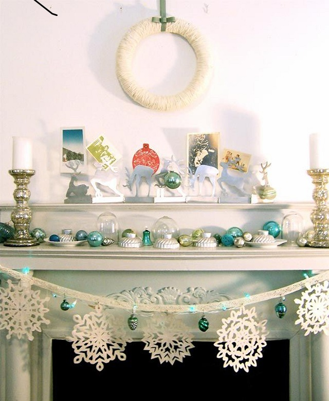 White Christmas Decoration Ideas Christmas Snowflakes