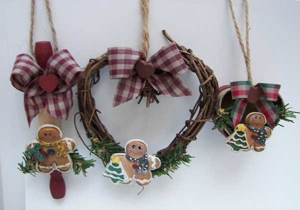 christimas-ornament-craft-ideas-rustic-gingerbread-ornament