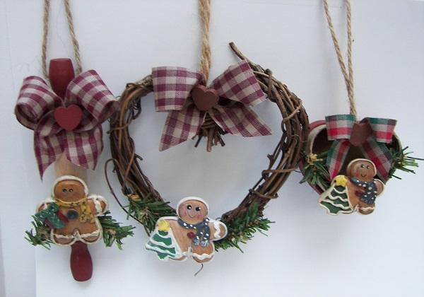 christimas-ornament-craft-ideas-rustic-gingerbread-ornament