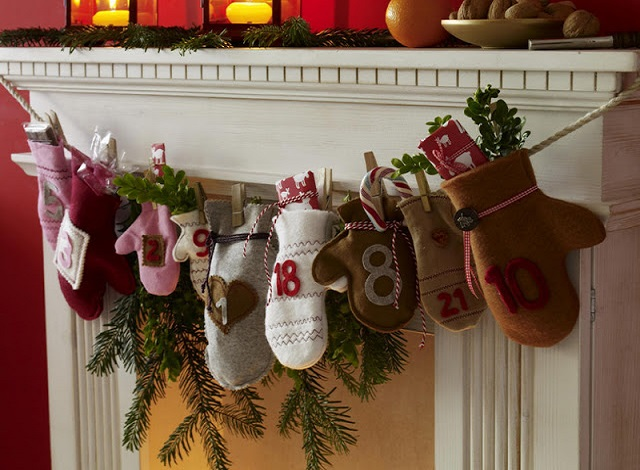 Christmas Craft Ideas For Adults Mittens