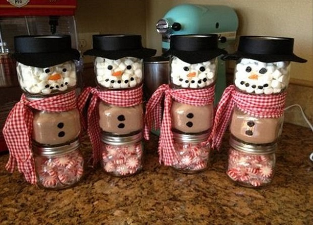 Christmas Craft Ideas For Adults Snowman Goodies