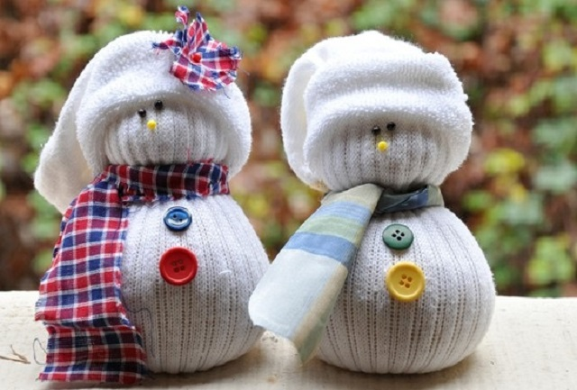 Christmas Craft Ideas For Adults Snowman Socks