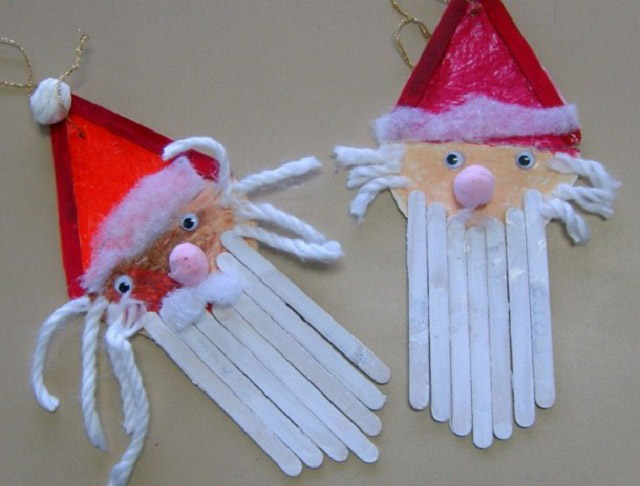 santa claus decorations are among the most popular during the christmas holidays and we all know just how much kids love santa - Santa Claus Preschool Crafts