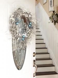 metallic decoration