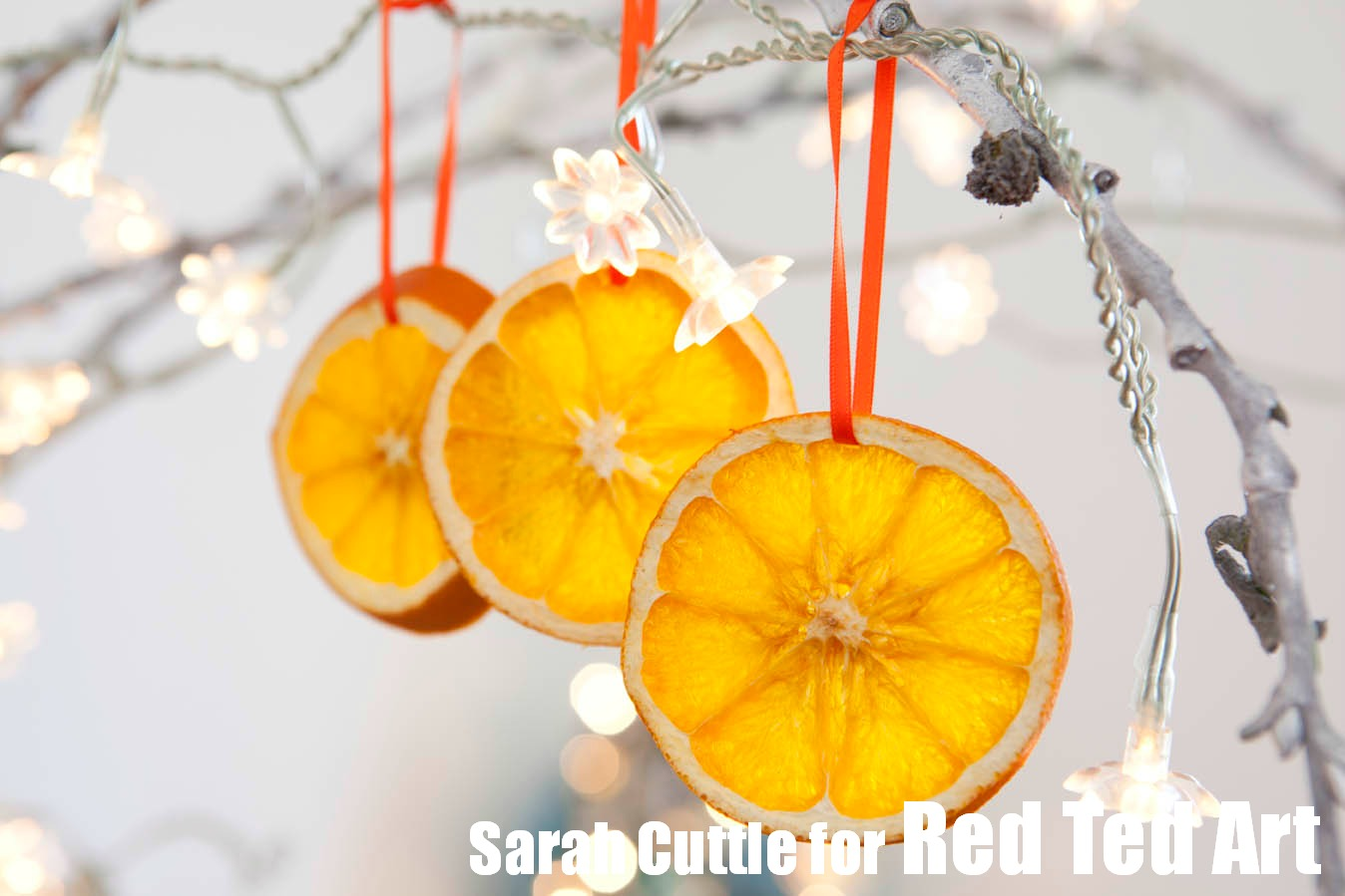 15 homemade christmas tree decorations christmas celebration for Baking oranges for christmas decoration