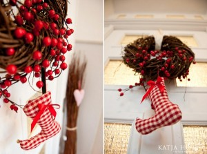 stockings door decoration
