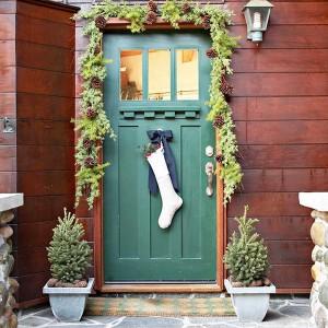 vintage door decoration
