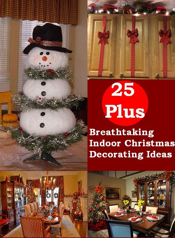 indoor christmas decorations - Interior Christmas Decorating Ideas