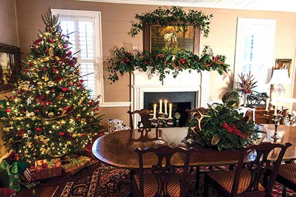 rustic christmas decorating ideas angels