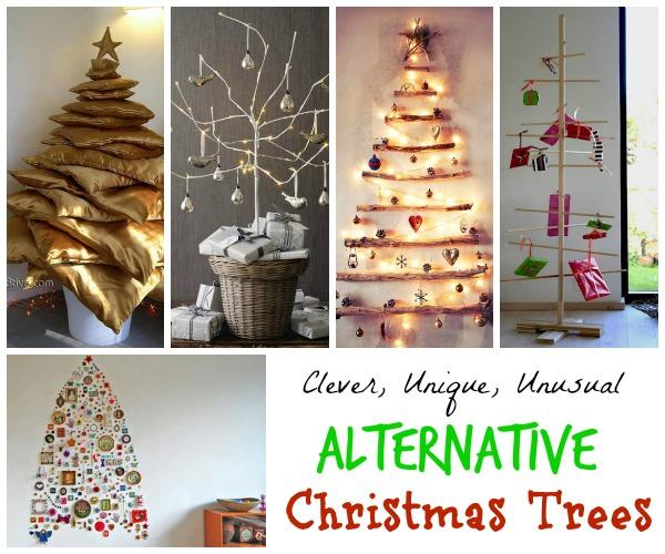 alternative christmas tree ideas - Christmas Decor Without A Tree