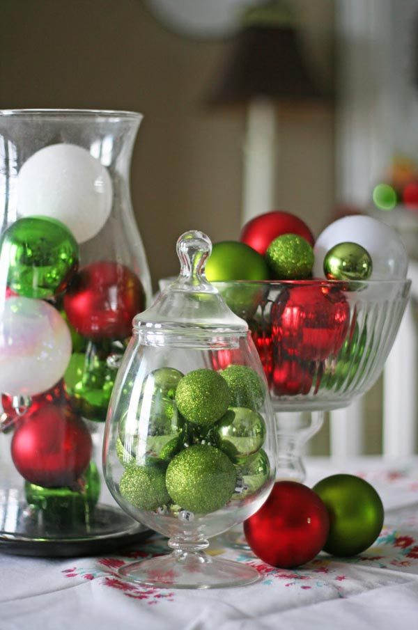 christmas centerpiece ideas - Christmas Table Decoration Ideas Easy