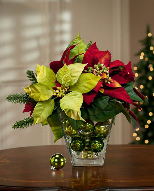 stunning christmas centerpiece ideas  christmas celebrations, Beautiful flower