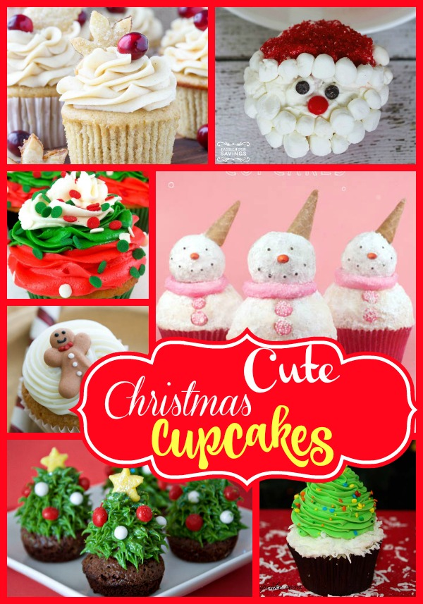 19+ Incredibly Cute Christmas Cupcakes - Christmas Celebration - All ...