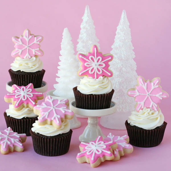 christmas cupcakes decorations - Christmas Cupcake Decorations