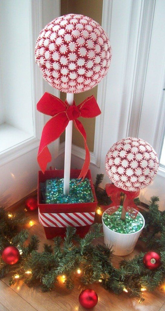 peppermint topiary