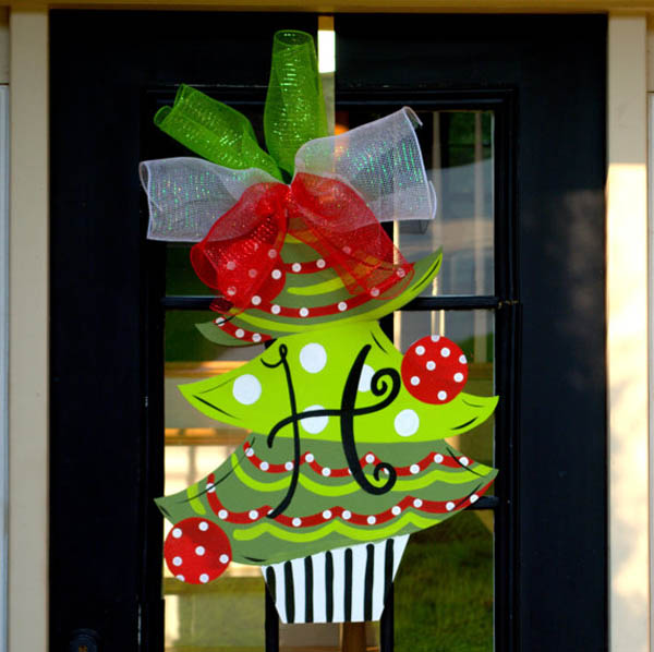 christmas door decorating - Christmas Door Decorations