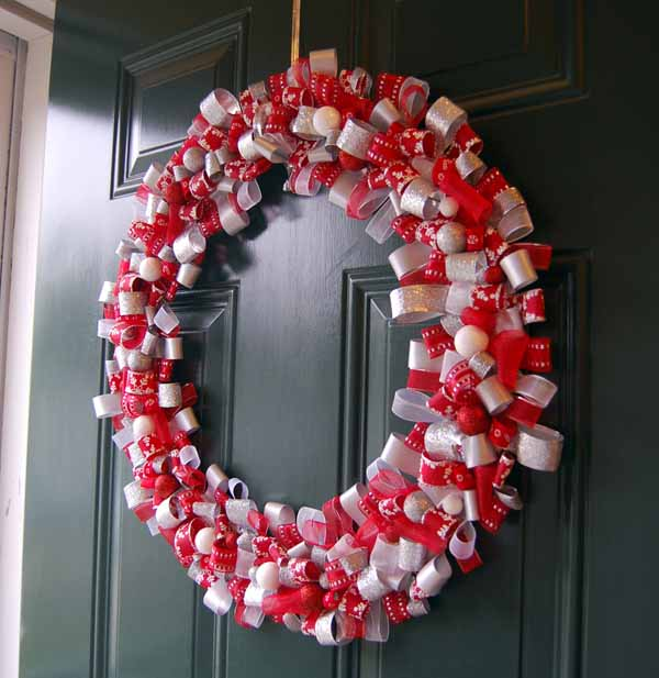 Nice Christmas Door Decorations