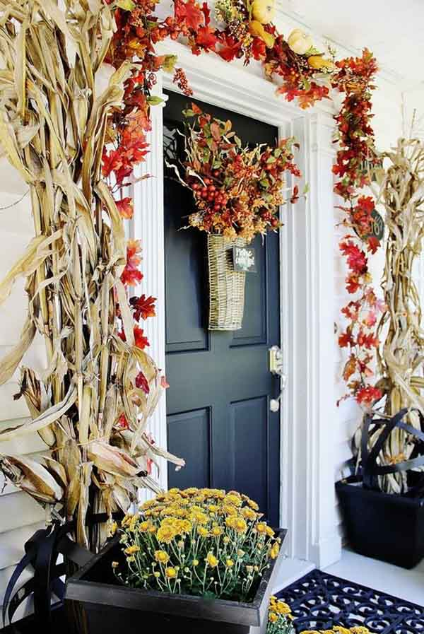 christmas front door decorations - Beautiful Christmas Door Decorations