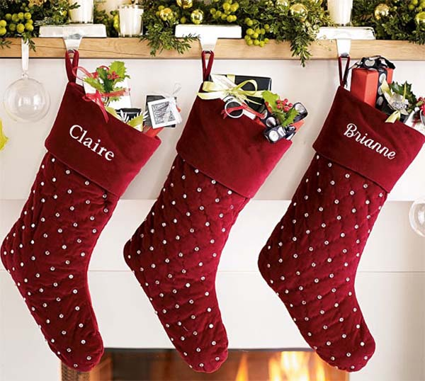 christmas stocking ideas - Christmas Socks Decoration
