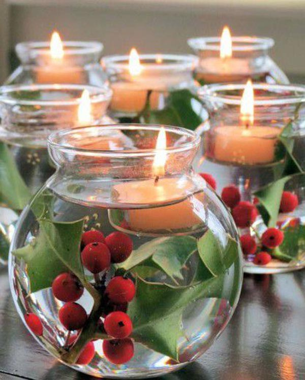 Easy Floating Candle Centerpieces: Top Christmas Centerpiece Ideas For This Christmas
