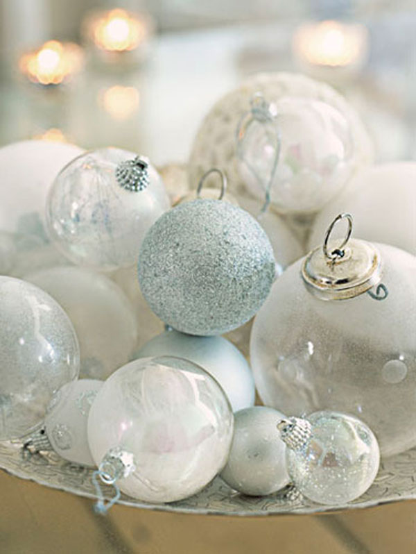 christmas table decorating ideas - Christmas Ball Decoration Ideas