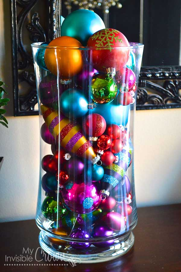 17 easy to make christmas decorations christmas Diy christmas table decorations
