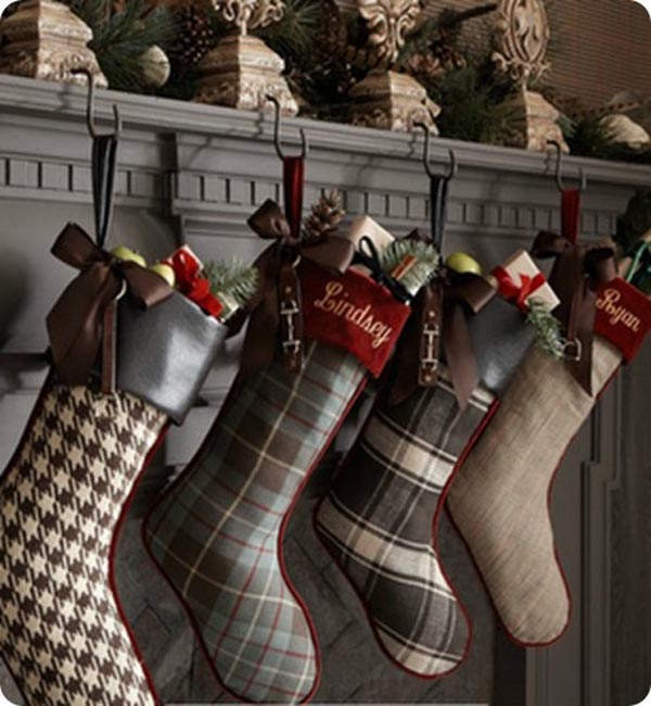 19 creative christmas stockings decorating ideas