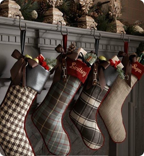 classy christmas stockings - Elegant Christmas Stockings