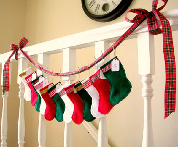 Creative Christmas Stockings Decorating Ideas Christmas