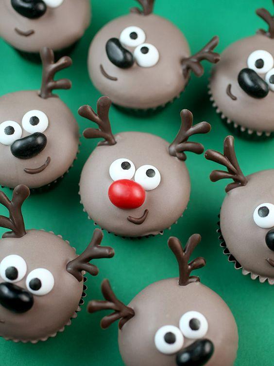 Reindeer Mini Cupcakes