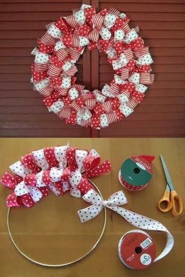 17 easy to make christmas decorations christmas celebration for Easy to make christmas decorations at home