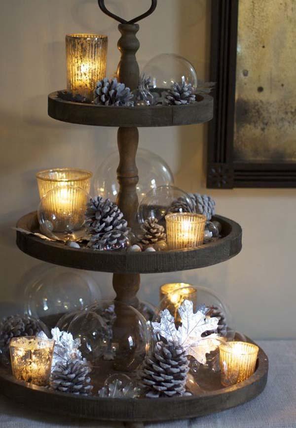 Elegant Rustic Christmas Decorations Celebration
