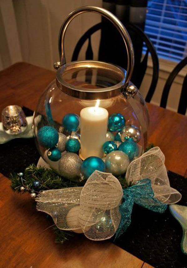 Silver And Blue Centerpiece Fresh Christmas Centerpieces