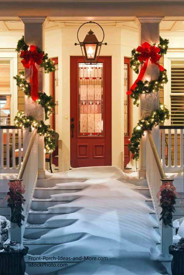 georgeous outdoor christmas decorations