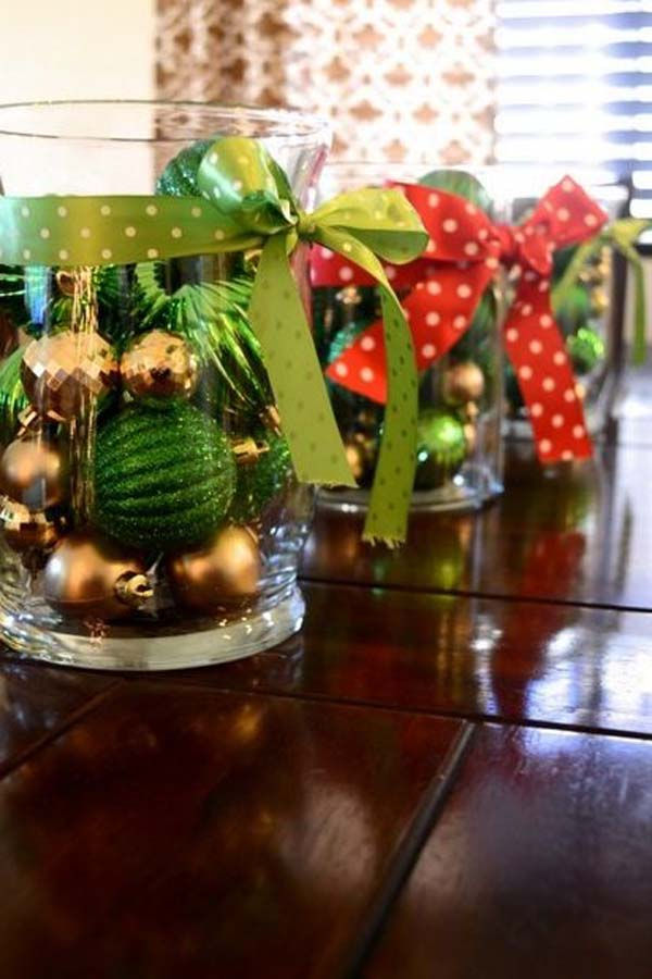 Top christmas centerpiece ideas for this christmas Diy christmas table decorations