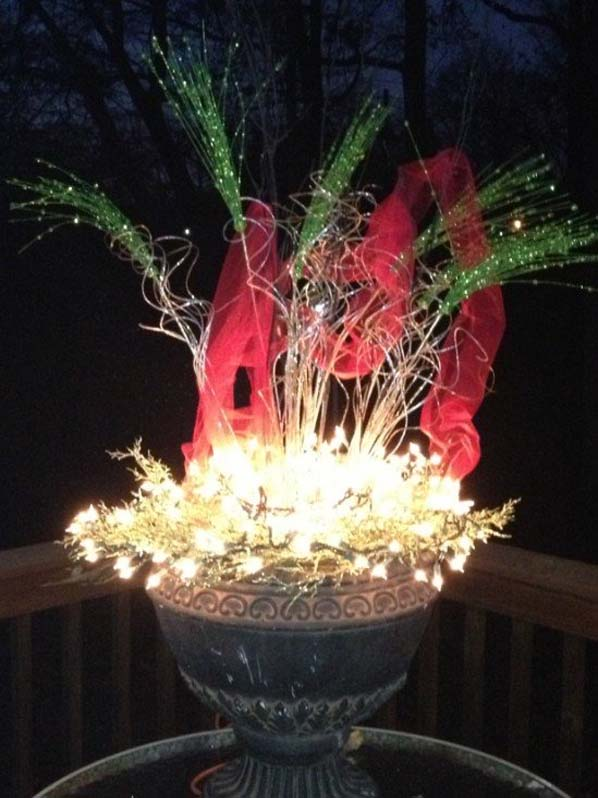 homemade outdoor christmas decorations - Homemade Outdoor Christmas Decorations